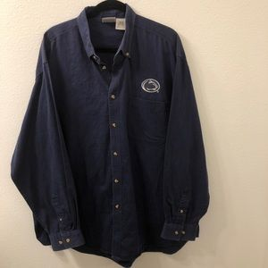 Pro edge penn state nittany lions button down